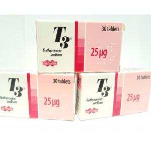 T3 Unipharma (90Tabs) 25µgr
